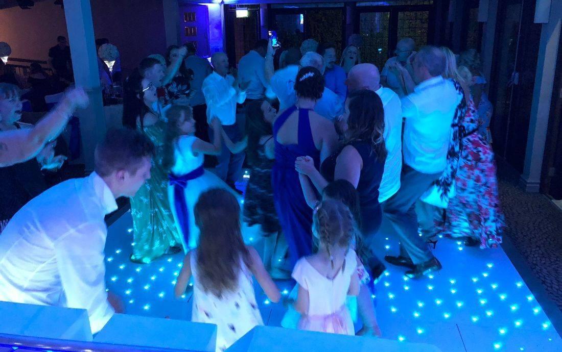 LED DanceFloor Hire Sparkles Twinkle Dance Wedding  Worcestershire