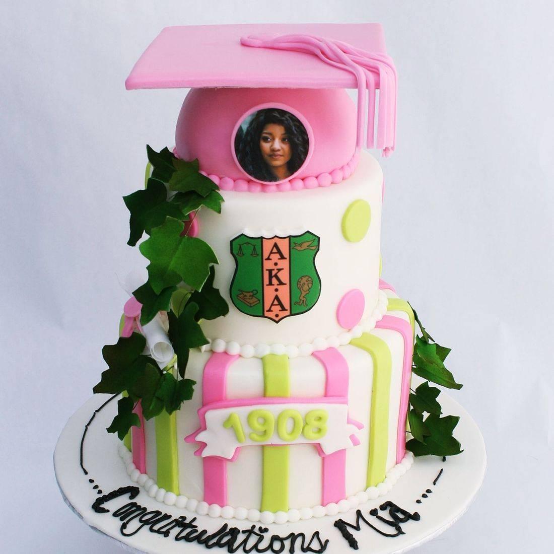 Grad Sigma  Cake Milwaukee
