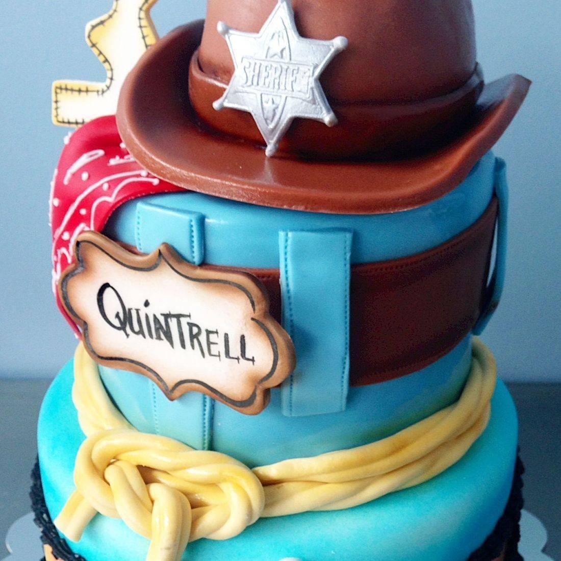 Custom Cowboy Hat Cake  Milwaukee
