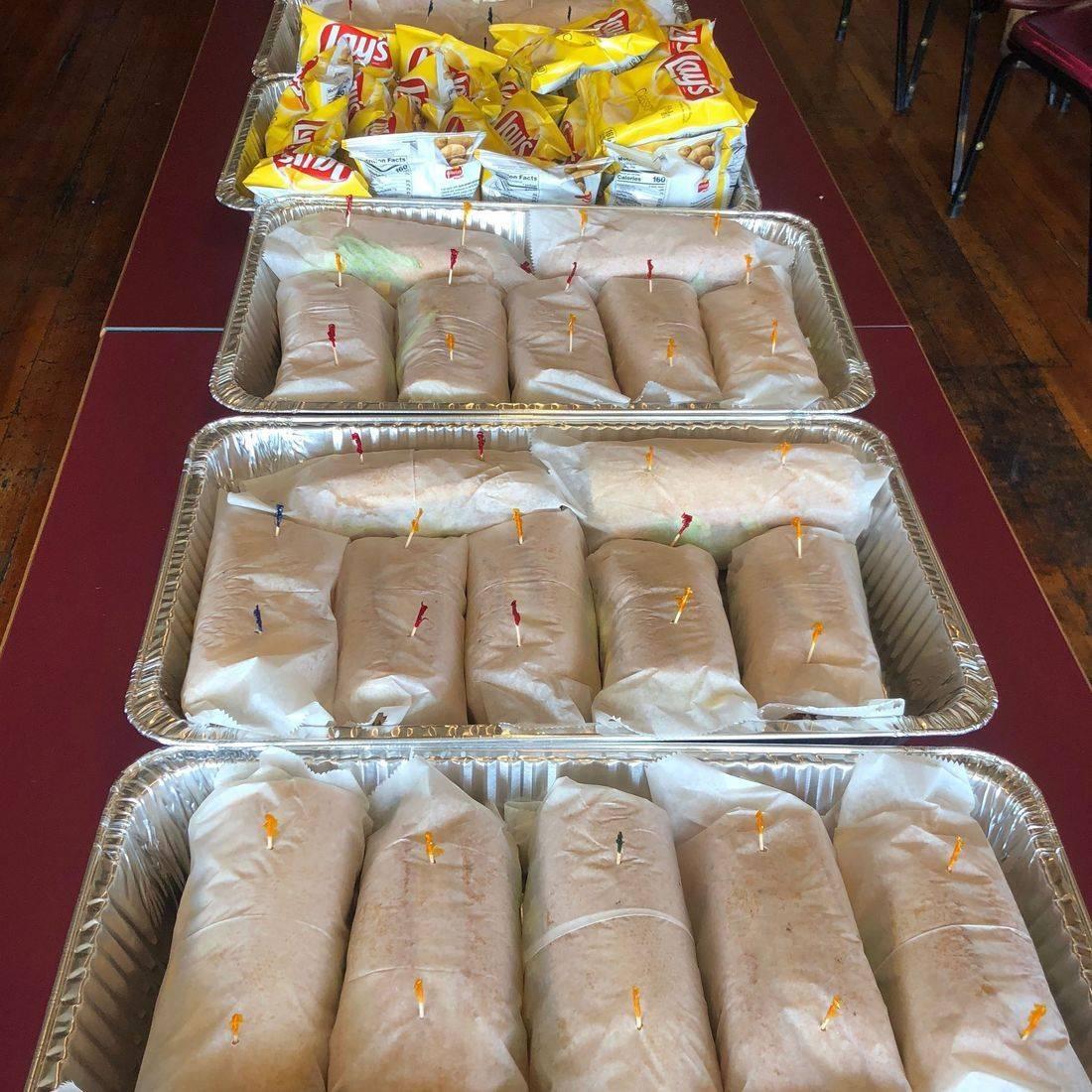 Cold Cut Hoagies Sandwiches