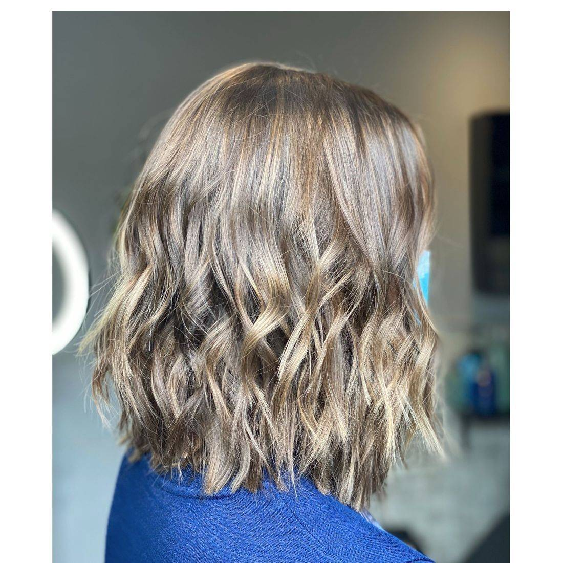 Color correction made my guest lighter brown