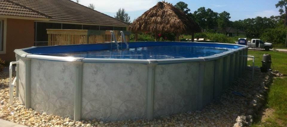 18x45 Oval Aboveground Pool