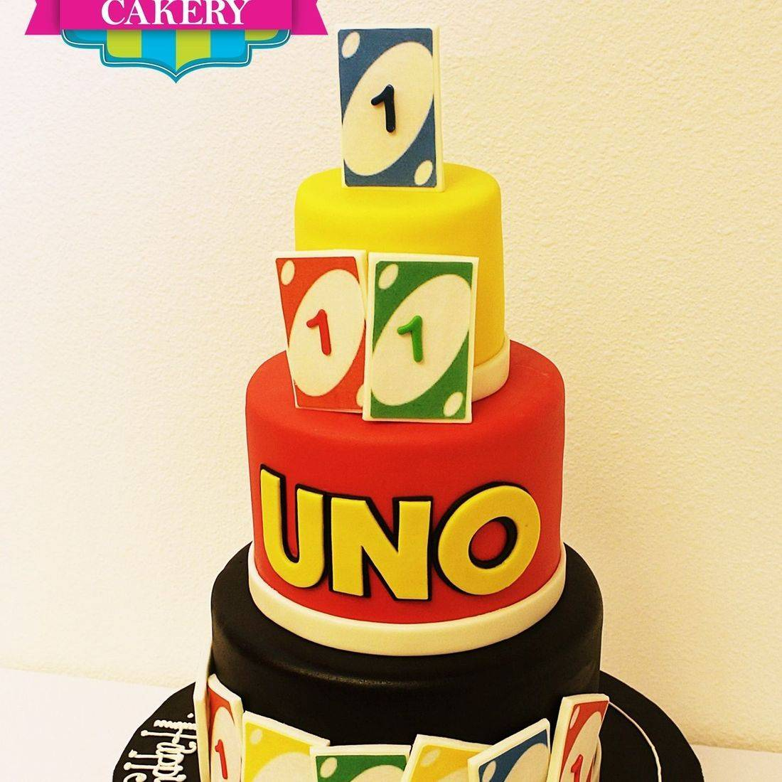 Custom Uno Card Cake Milwaukee
