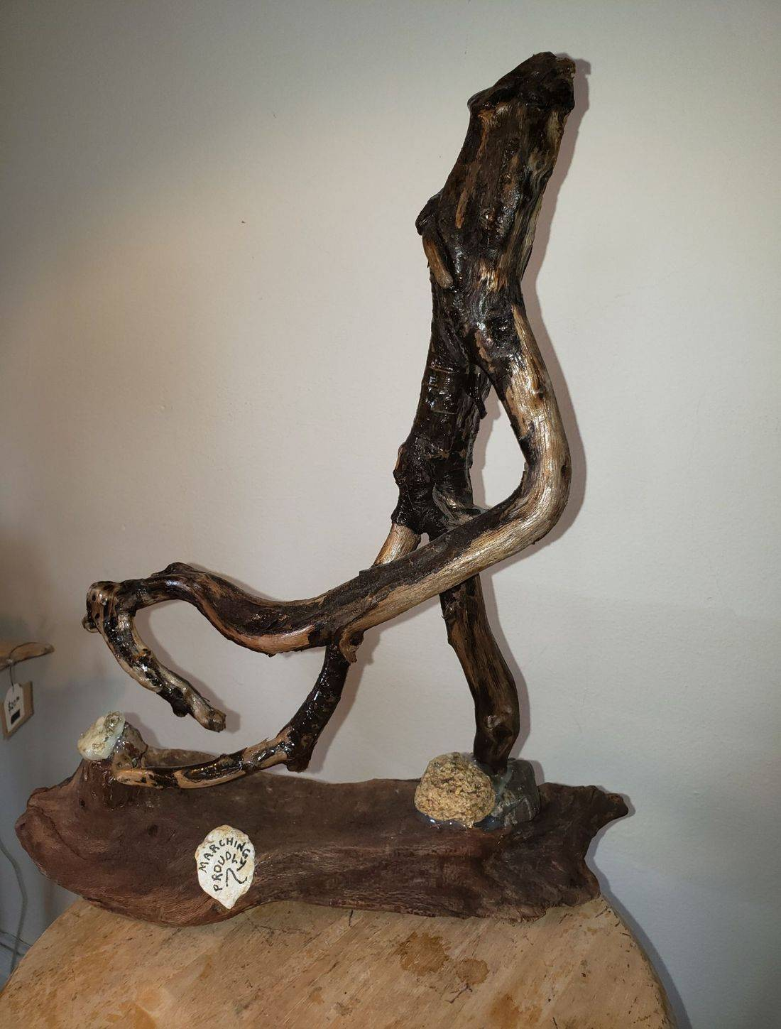 Art, driftwood, shells, stones, rocks, sea glass, river glass, eclectic, local art