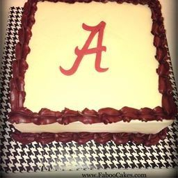 University of Alabama Grooms Cake Bama Cake
