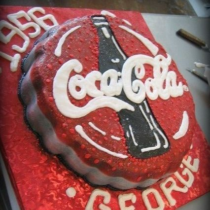 coca cola birthday cake coke cake
