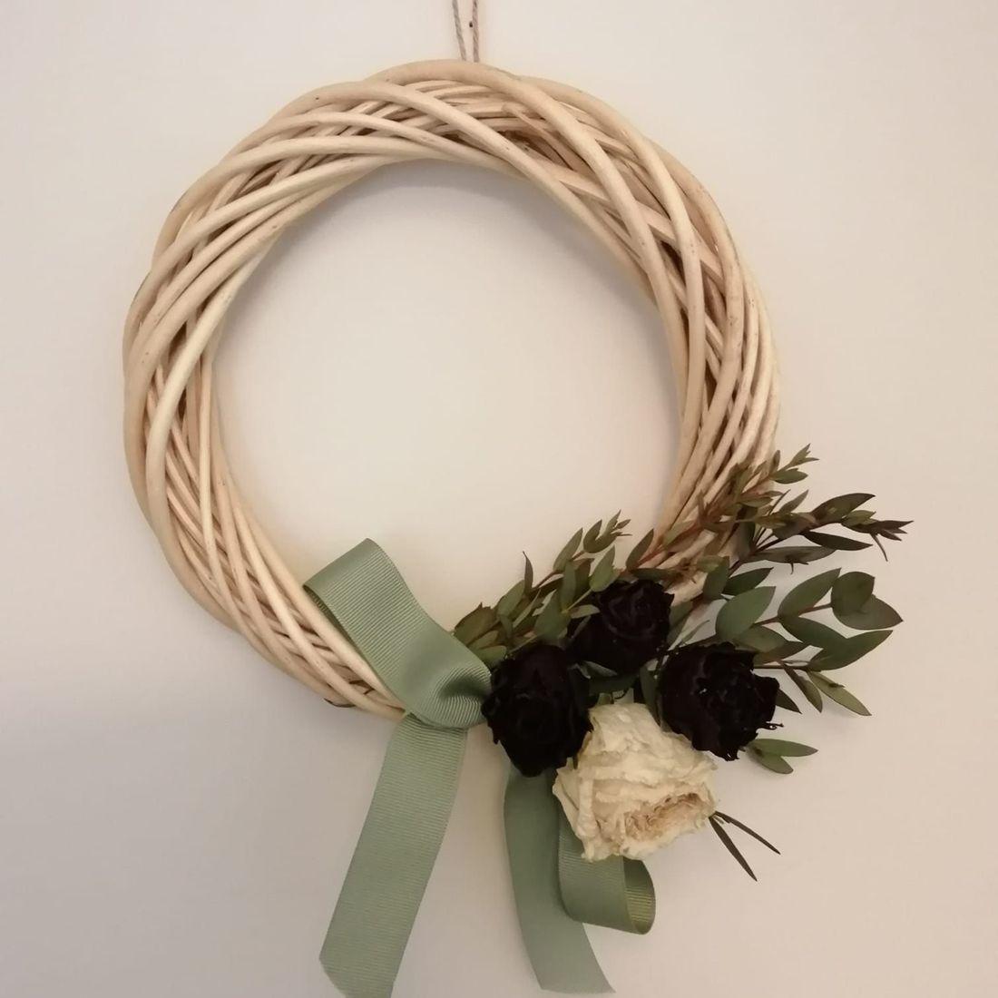 Rustic Flower Wreath