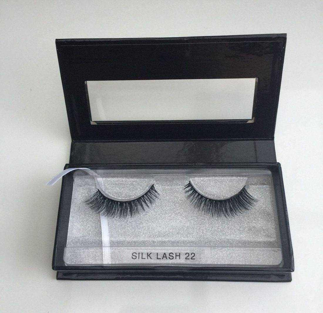 silk lash 22, strip lash, silk lash