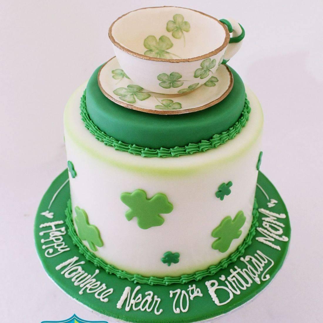 Custom Irish Tea Cake Milwaukee