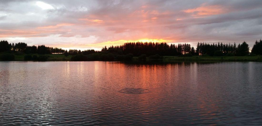 Scotland Walton Loch Sunset