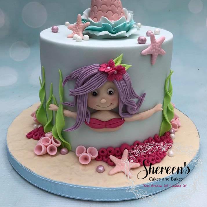 Birthday Cake Mermaid