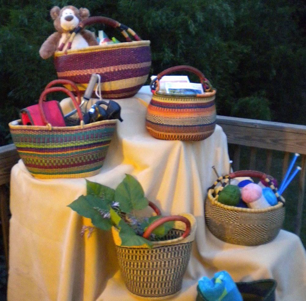 Assorted Honeycomb Baskets