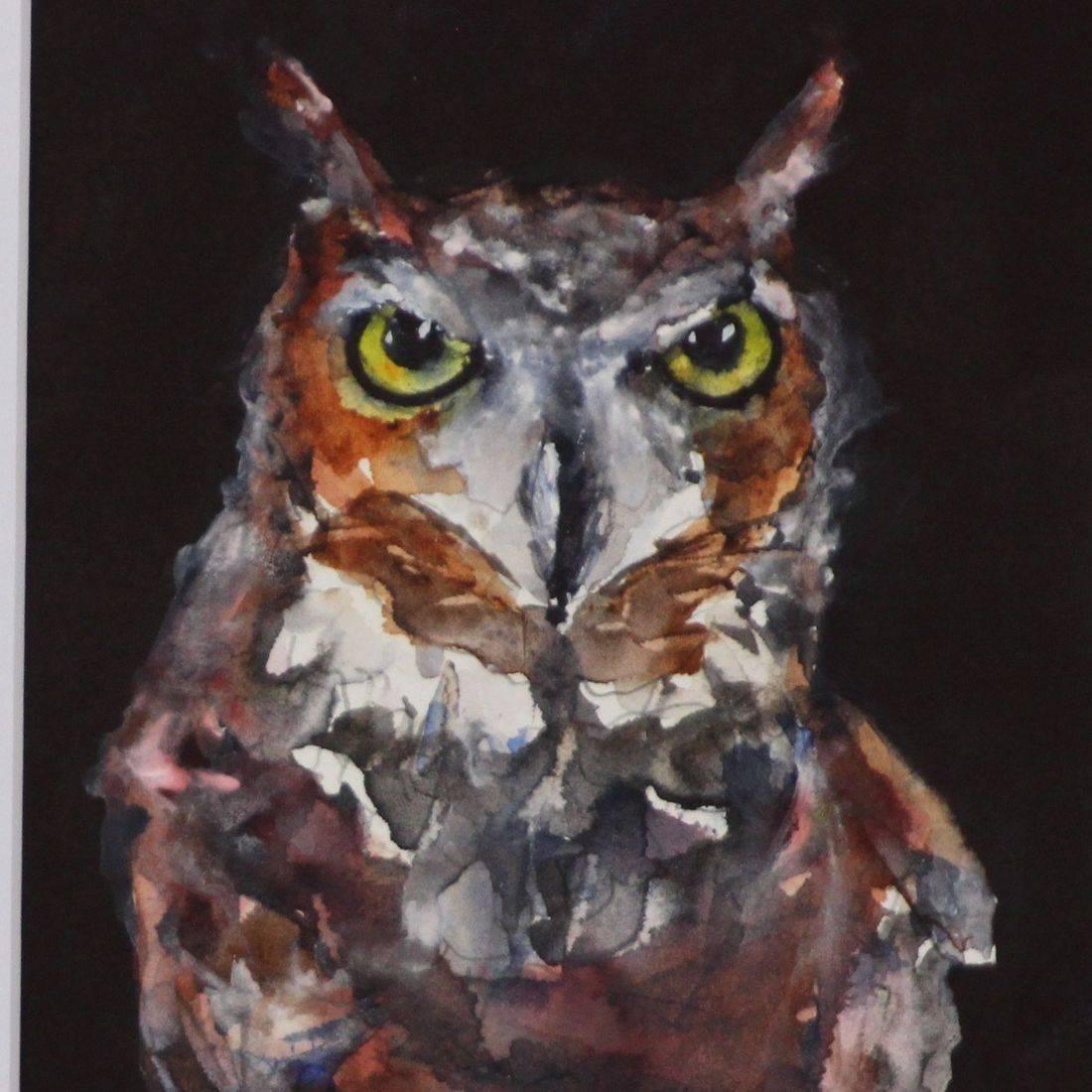 RPutbrese Watercolor, Rebecca Krutsinger, Becky Krutsinger nature watercolor painting