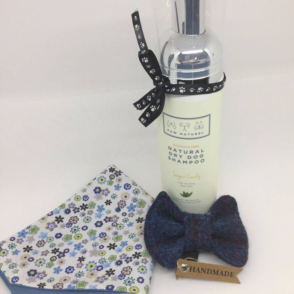 Dog gift pamper hamper luxury dog grooming products