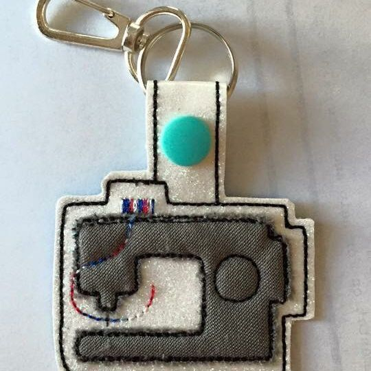 Sewing Machine Key Tag/Zipper Pull