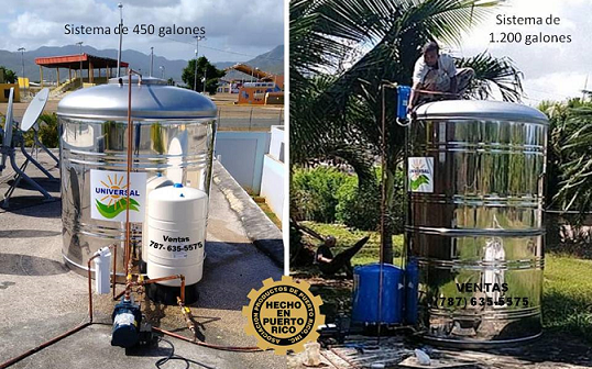 Tanque de agua 600 galones