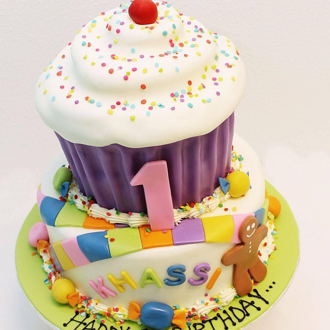 Custom Candyland cupcake  Cake Milwaukee