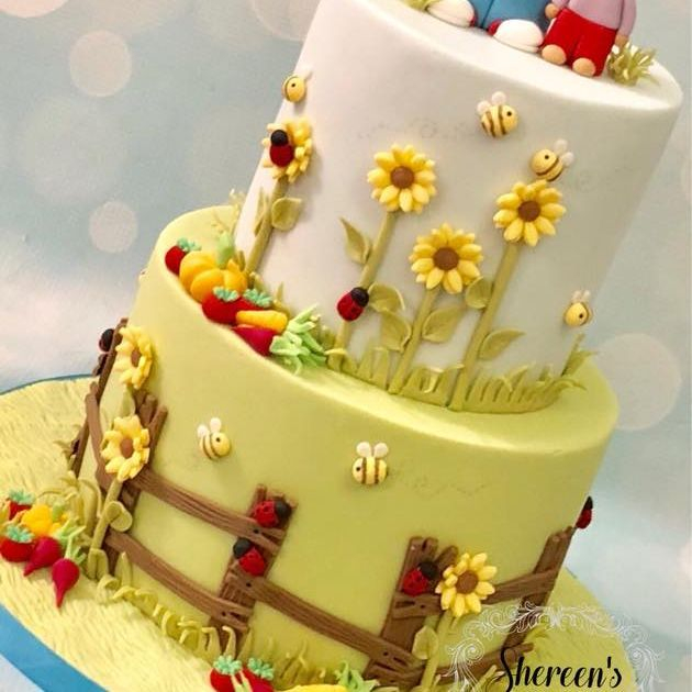 Tchoupi Dou Dou Birthday Cake Garden