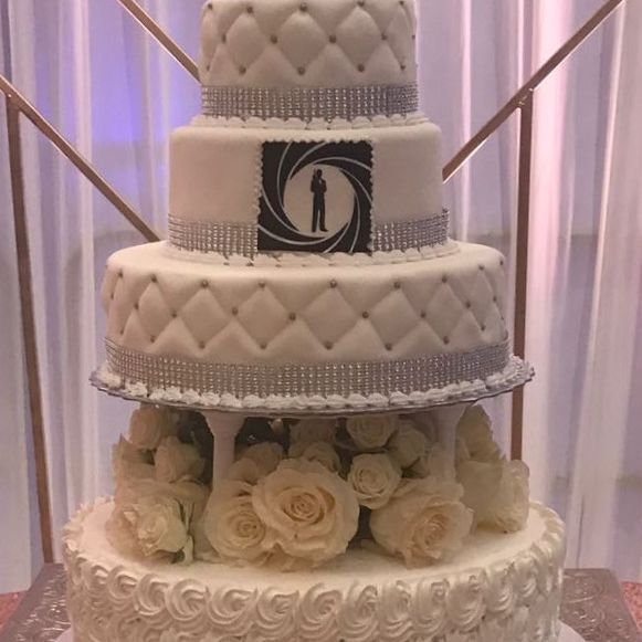 Wedding cake # 14
