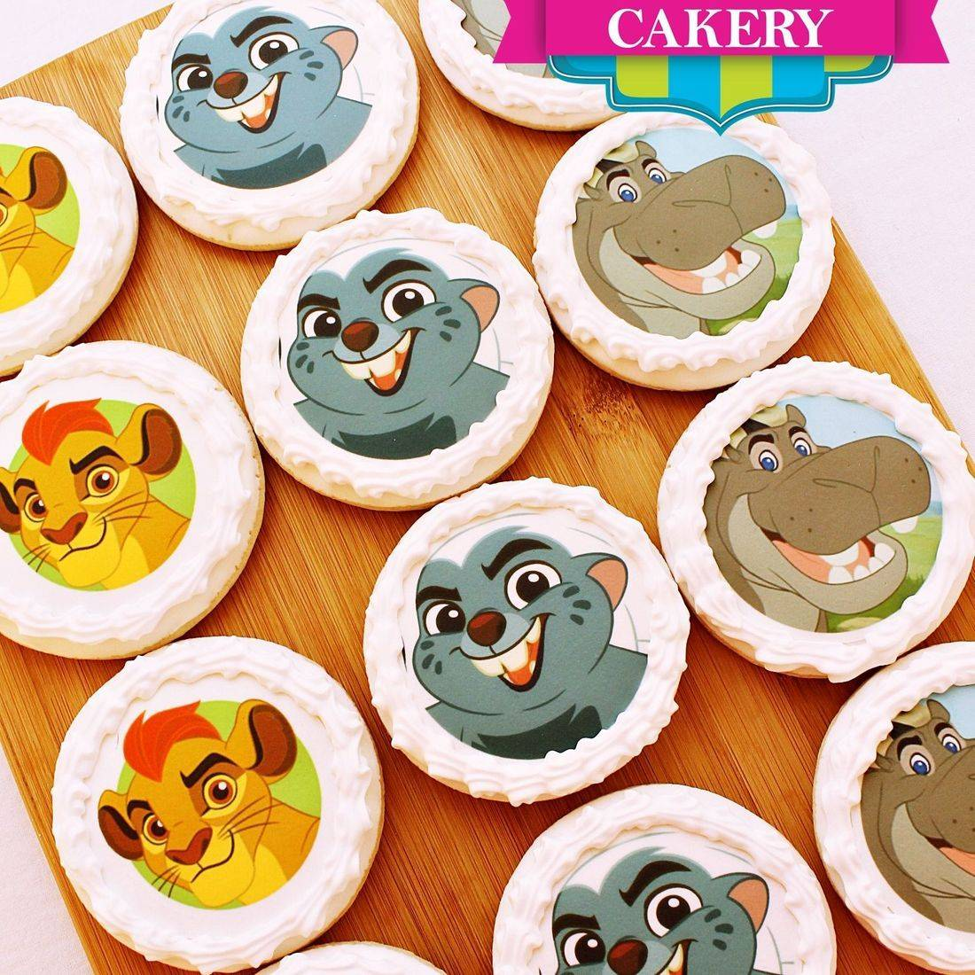 Lion Guard Photo Cookies Milwaukee