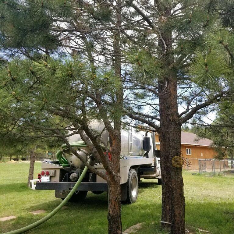 Septic pump in Black Forest, Colorado