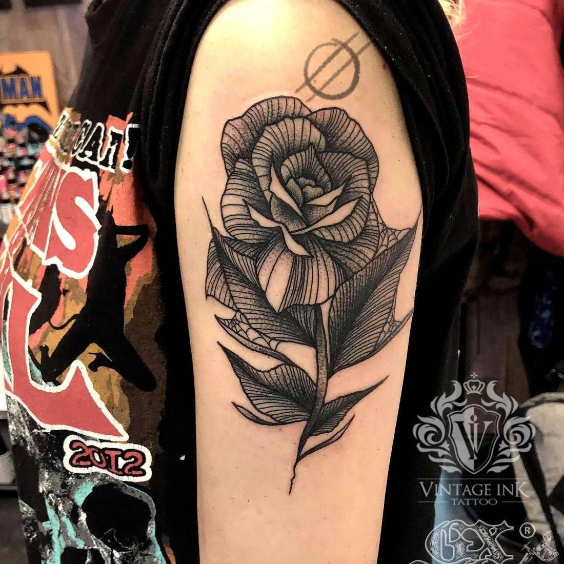 Vintage ink tattoos featured work Unicorn Tattoo
