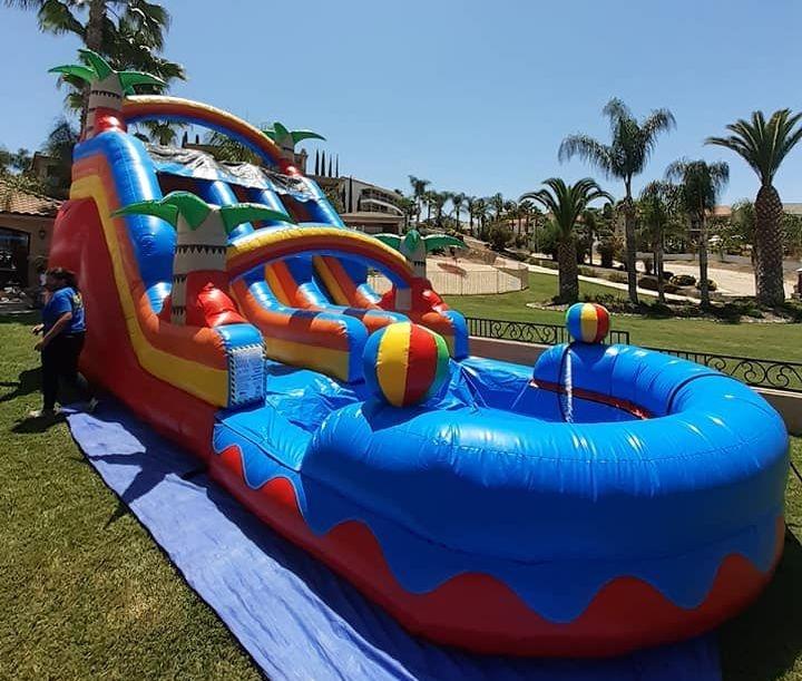water slide jumper rental near me in Moreno Valley Menifee Party rentals