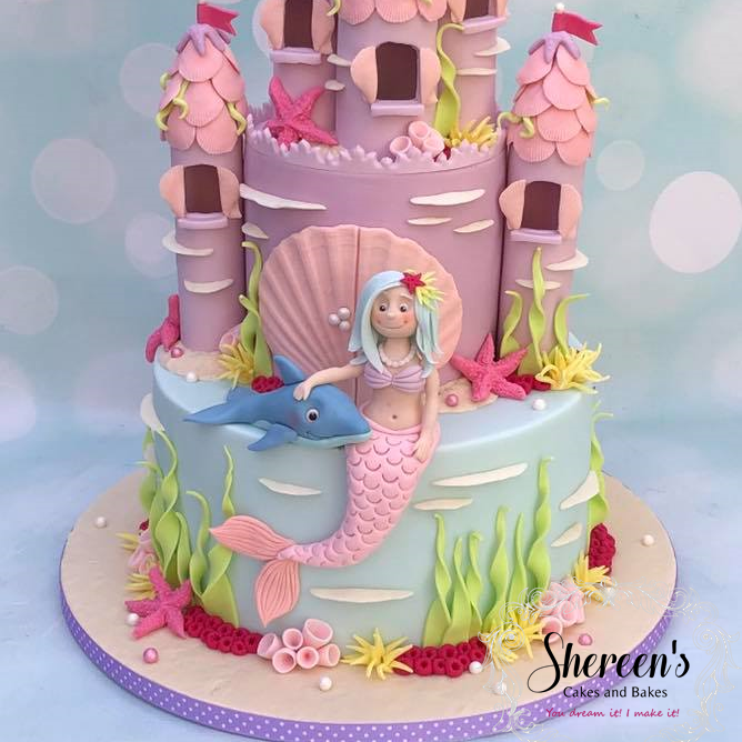 Birthday Cake Mermaid
