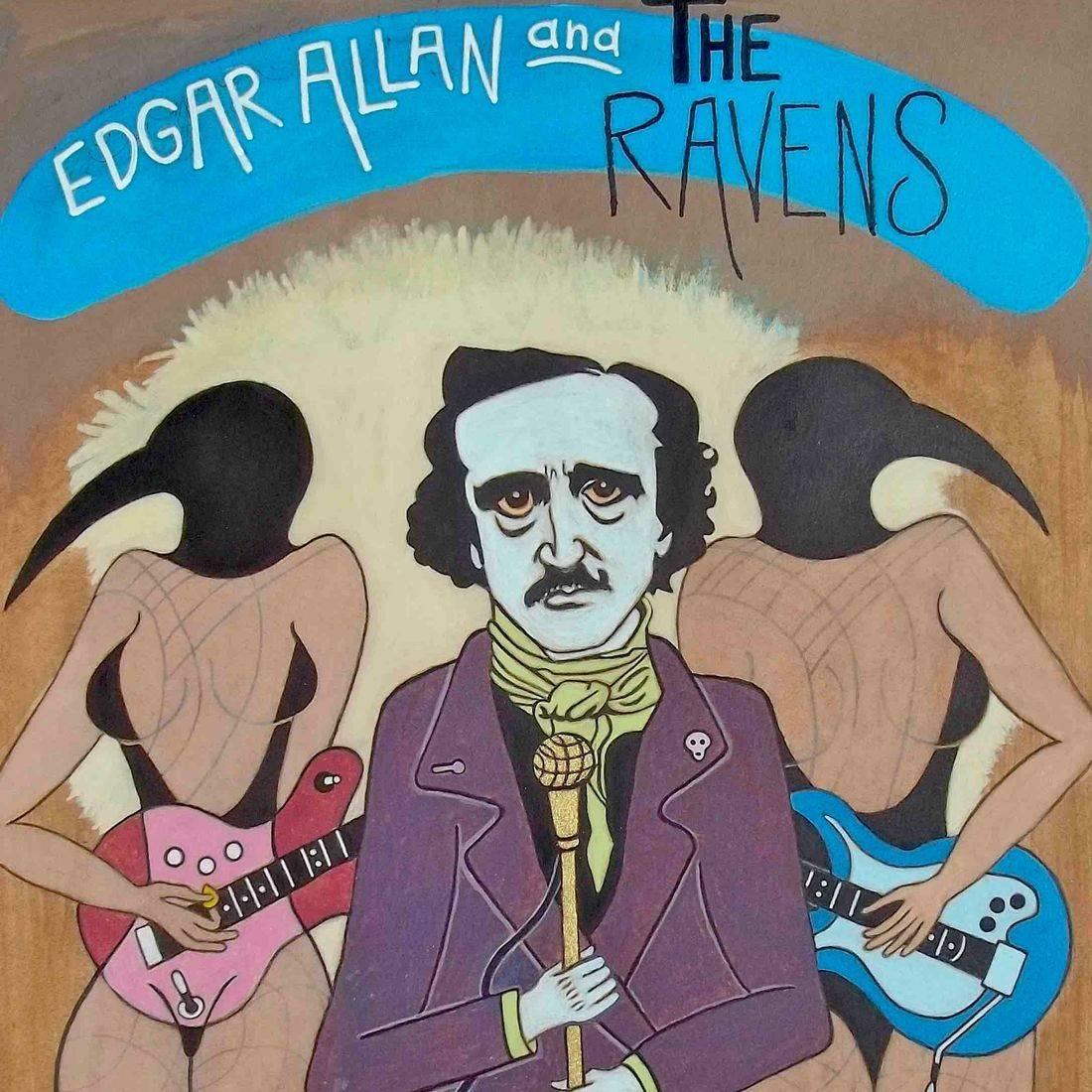 Edgar Allan Poe, Ravens, Lounge Lizard