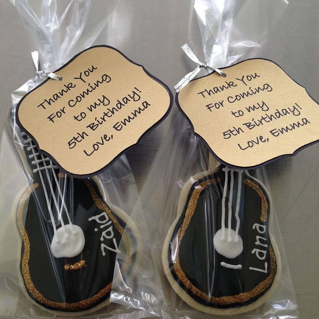 Guitar Thank you Cookies Milwaukee