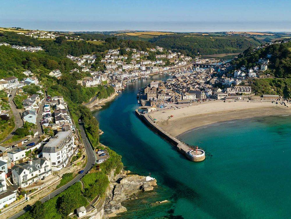 Holiday let Looe Cornwall