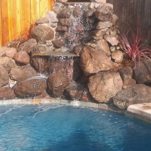 Custom Elk Grove Waterfalls