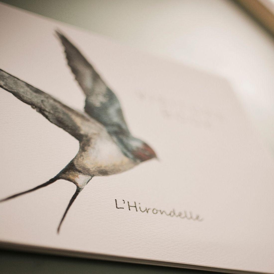 L'Hirondelle guest book
