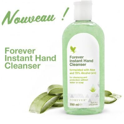 Instant Hand Cleanser, Forever Living Products,Aloe Vera, Therapy Stockel