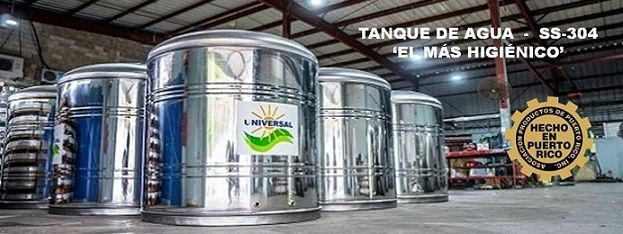 Tanques de agua Stainless Steel 304