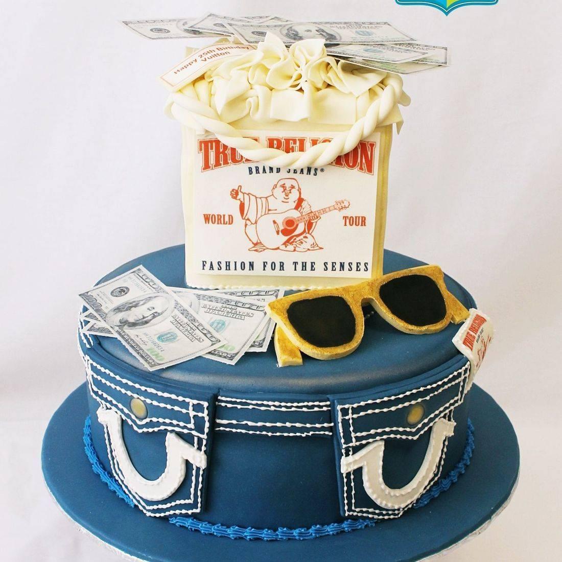 Custom True Religion Cake Milwaukee