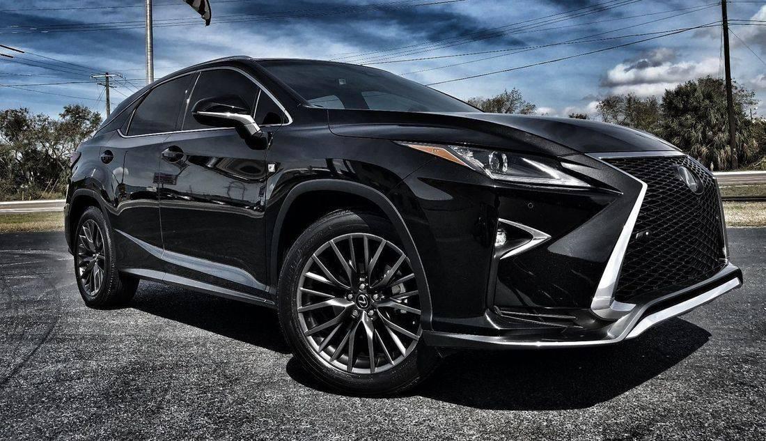 Black Lexus SUV