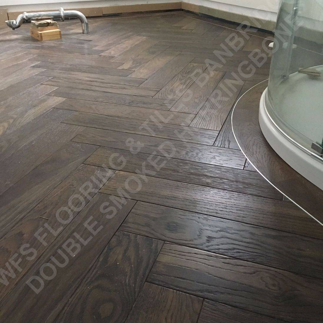 Double Smoked Oak  Herringbone