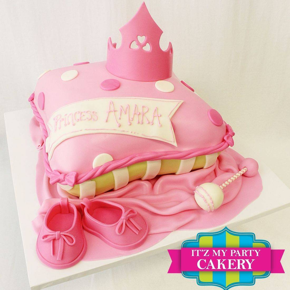 Princess Pillow  Cake Dimensional Cake Milwaukee