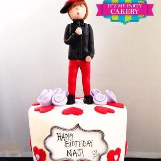 Custom Justin Bieber Cake Milwaukee