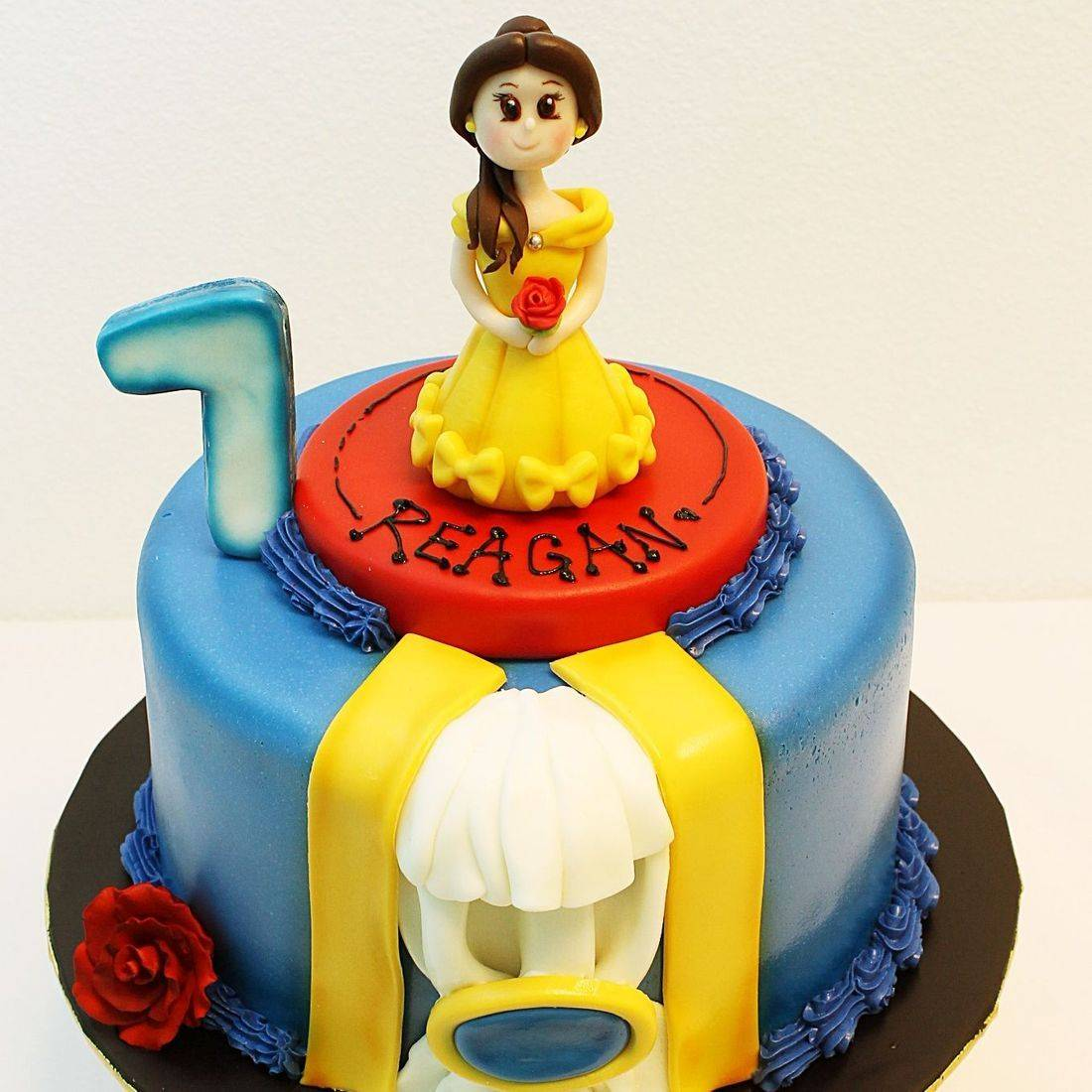 Custom Beauty & The Beast Cake Milwaukee