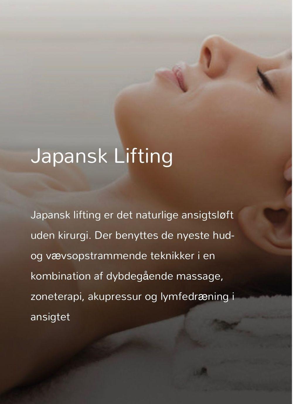 Japansk lifting