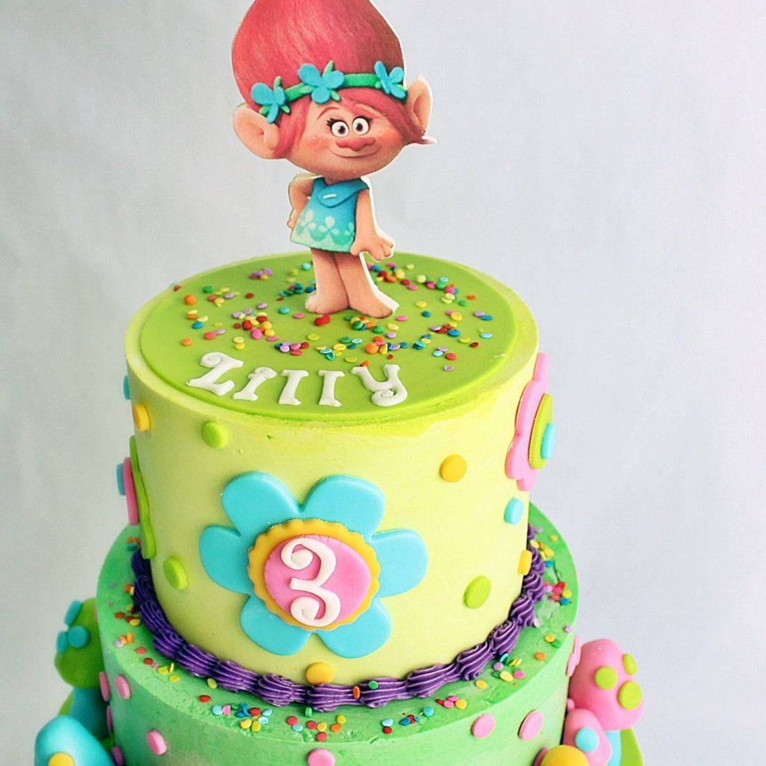Poppy Trolls Cake Milwaukee
