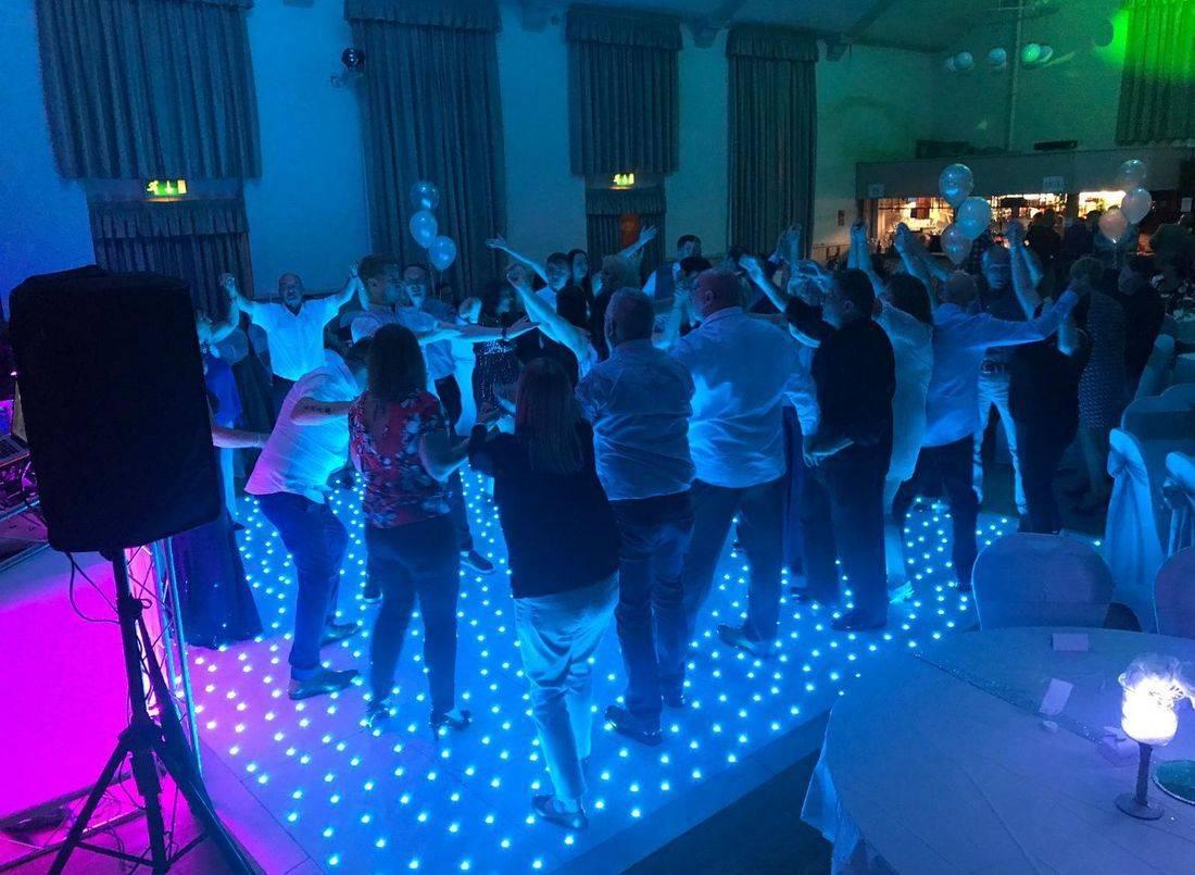 Birmingham  LED Dance Floor Hire DANCEFLOOR