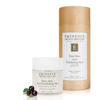Eminence Organic firm skin peel