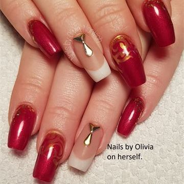 Amazing nails following the Sculptured Nails Course
