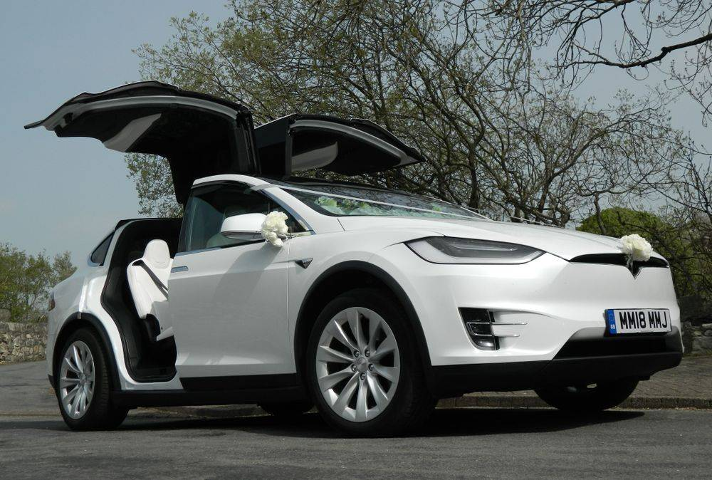 Falcon Tesla Wedding Cars Cheshire Cumbria Lancashire