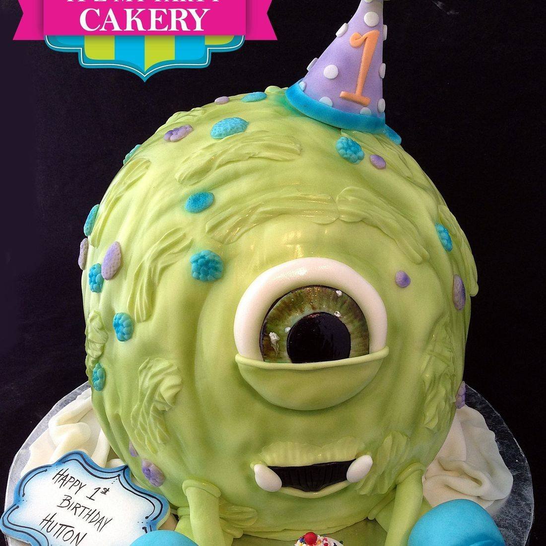 Baby Monster Cake Dimensional Cake Milwaukee
