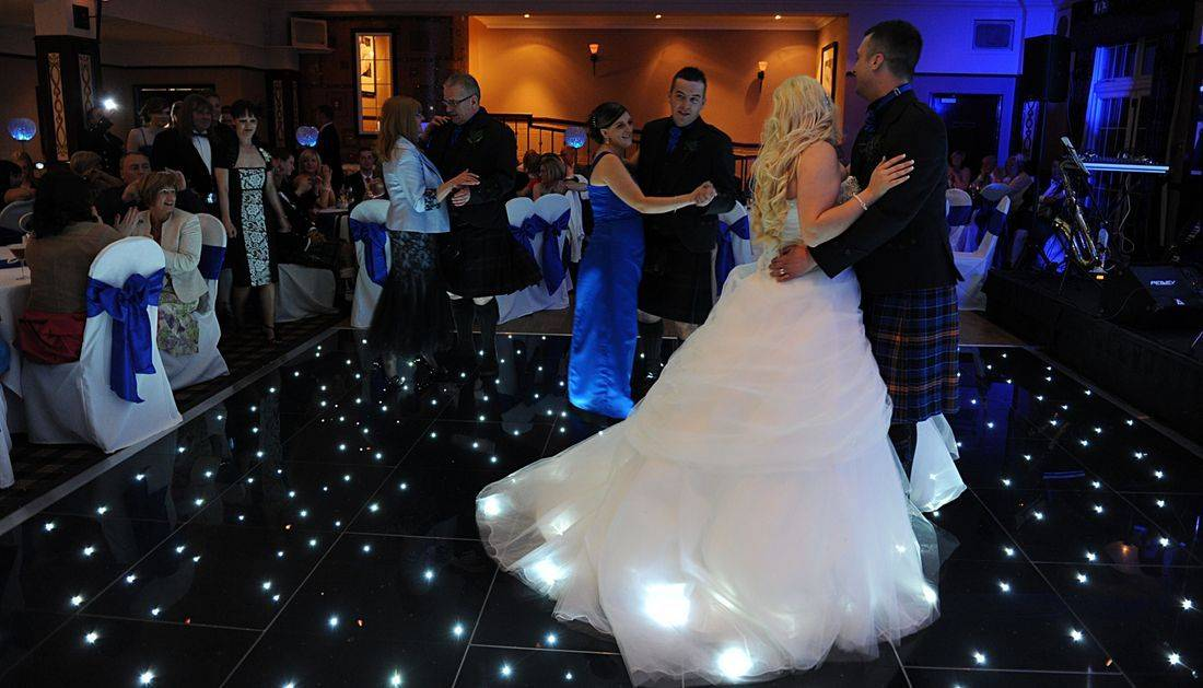 dance floor hire in Northamptonshire