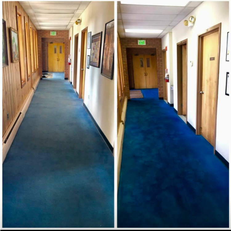 Custom Colour Carpets & Rugs, Carpet Dyeing,   Colorclean process